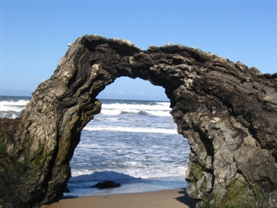Arch Rock at Paradise Beach