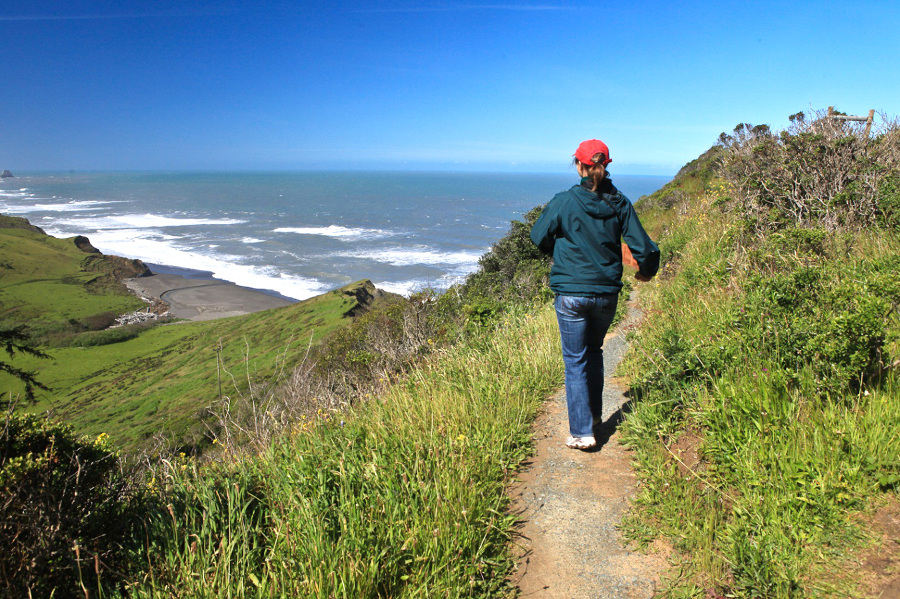 Fleener Creek Trail-Lost Coast Headlands-Humboldt County