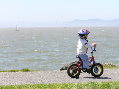 San Francisco Bay Trail at Cesar Chavez Park