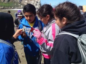 Fresno Students at Morro Bay