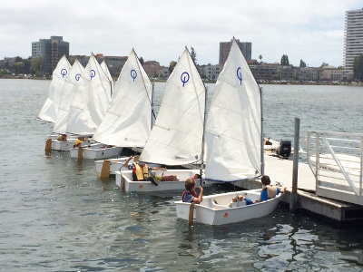 Lake Merritt Sailboat Center