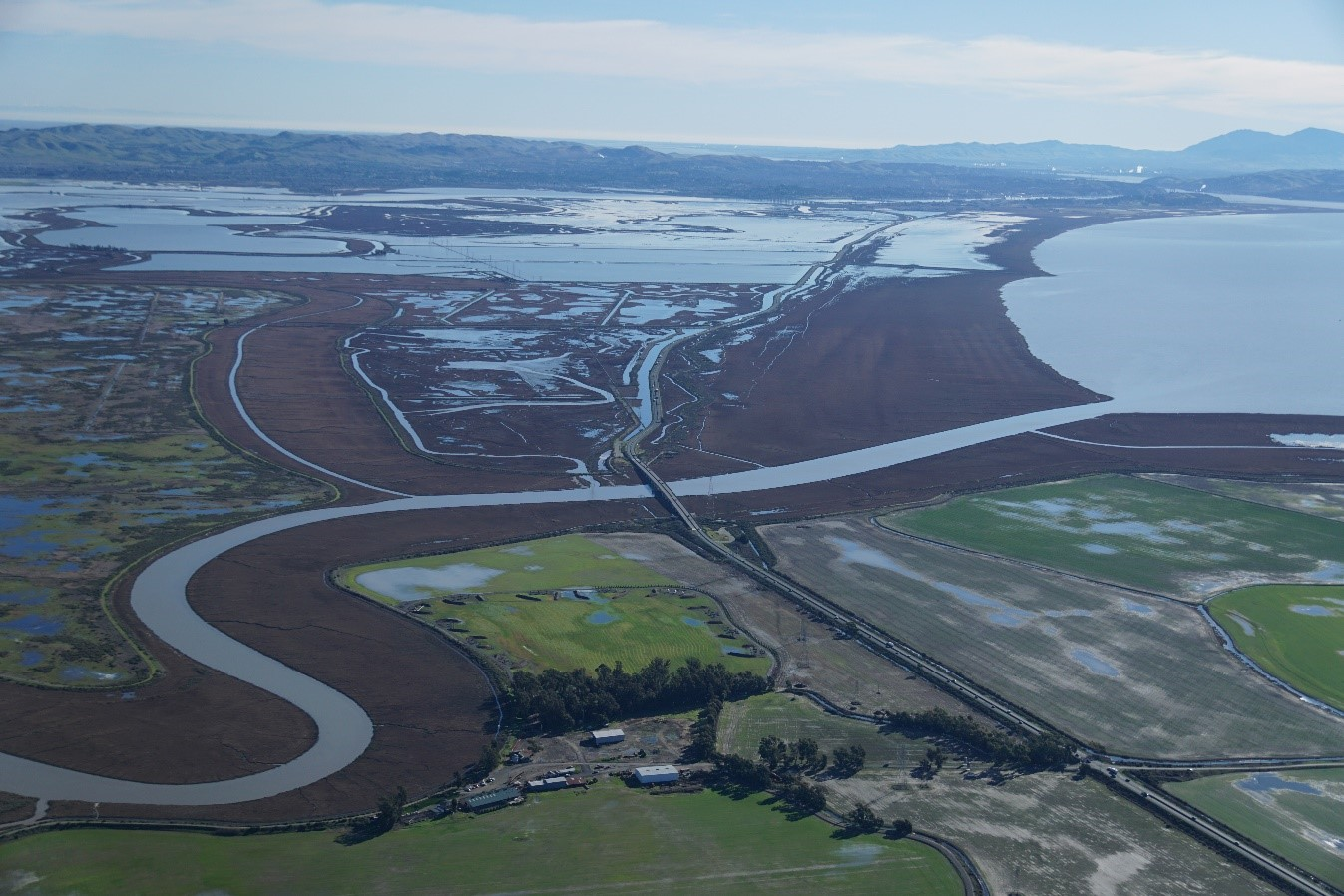 Highway 37 and the San Pablo Baylands   California State Coastal