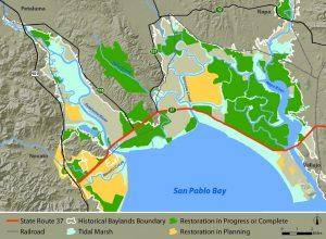 Sonoma Baylands Map