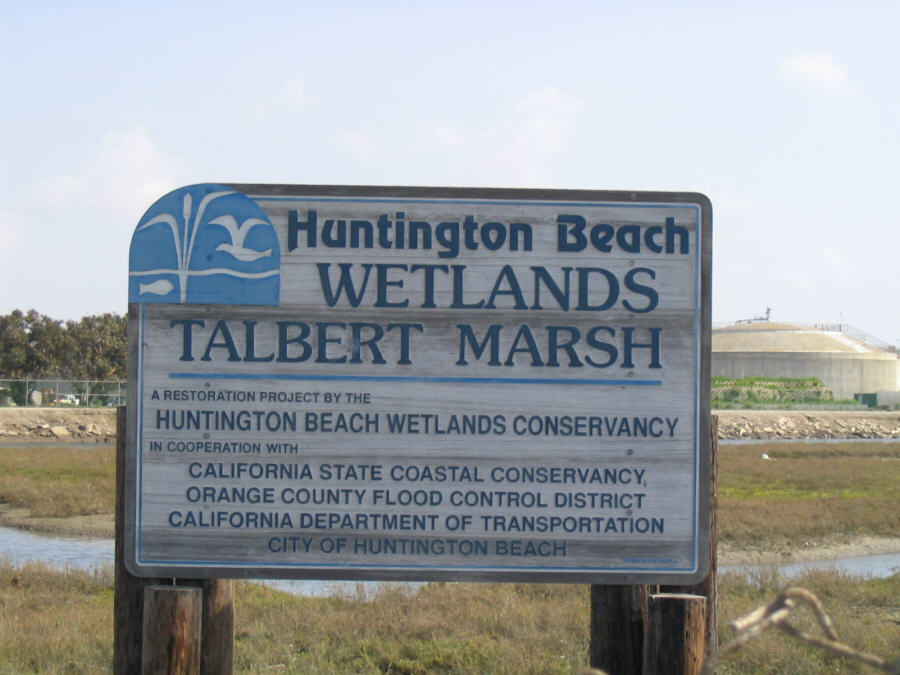 Talbert Marsh sign