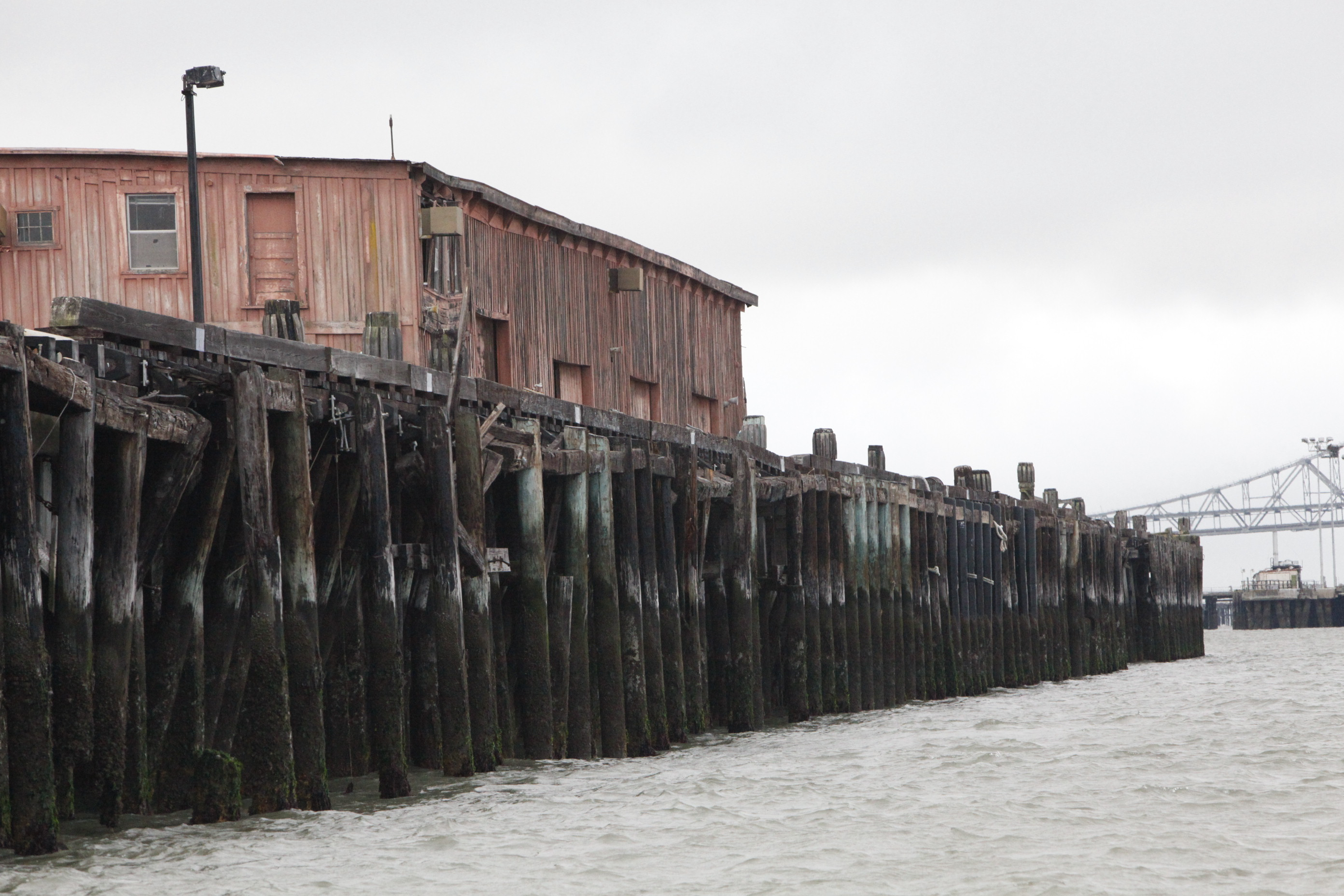 Terminal 4 wharf before restoration