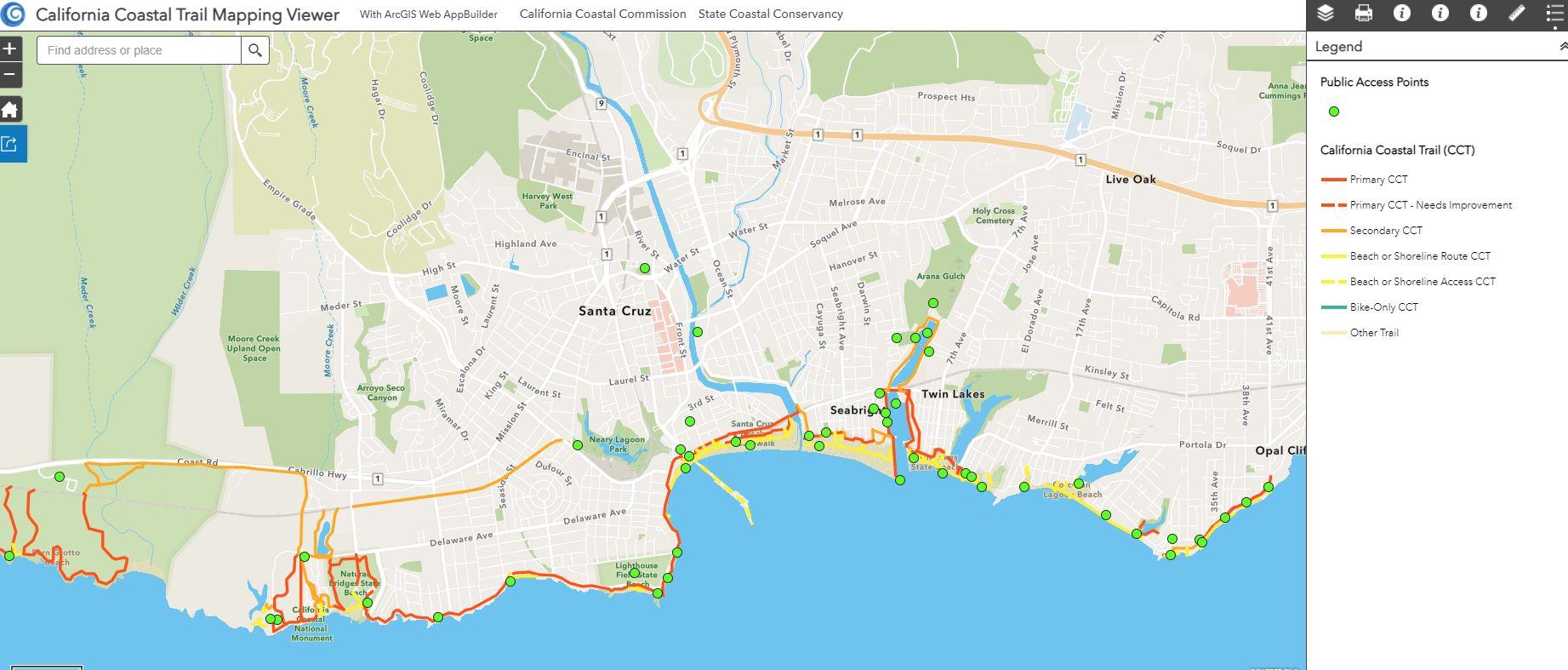 CCT Map Santa Cruz